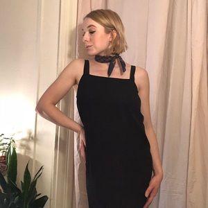 Silk Maxi Dress 🖤